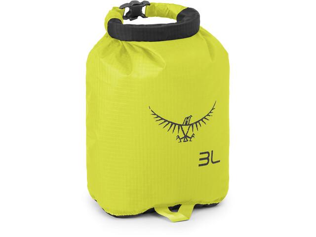 Osprey Ultralight DrySack 3, electric lime